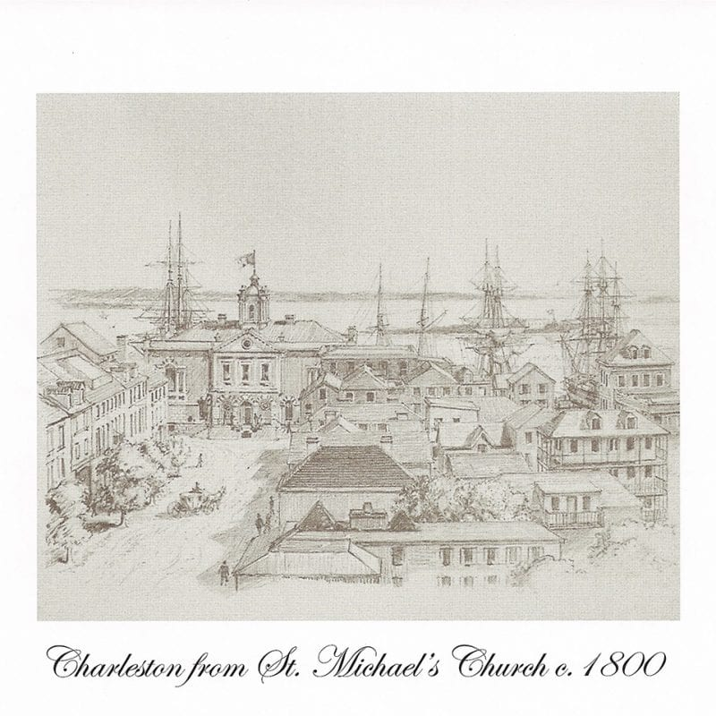 Charleston from St. Michaels Church c.1800