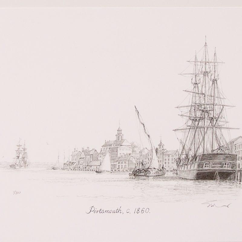 Portsmouth, c.1860